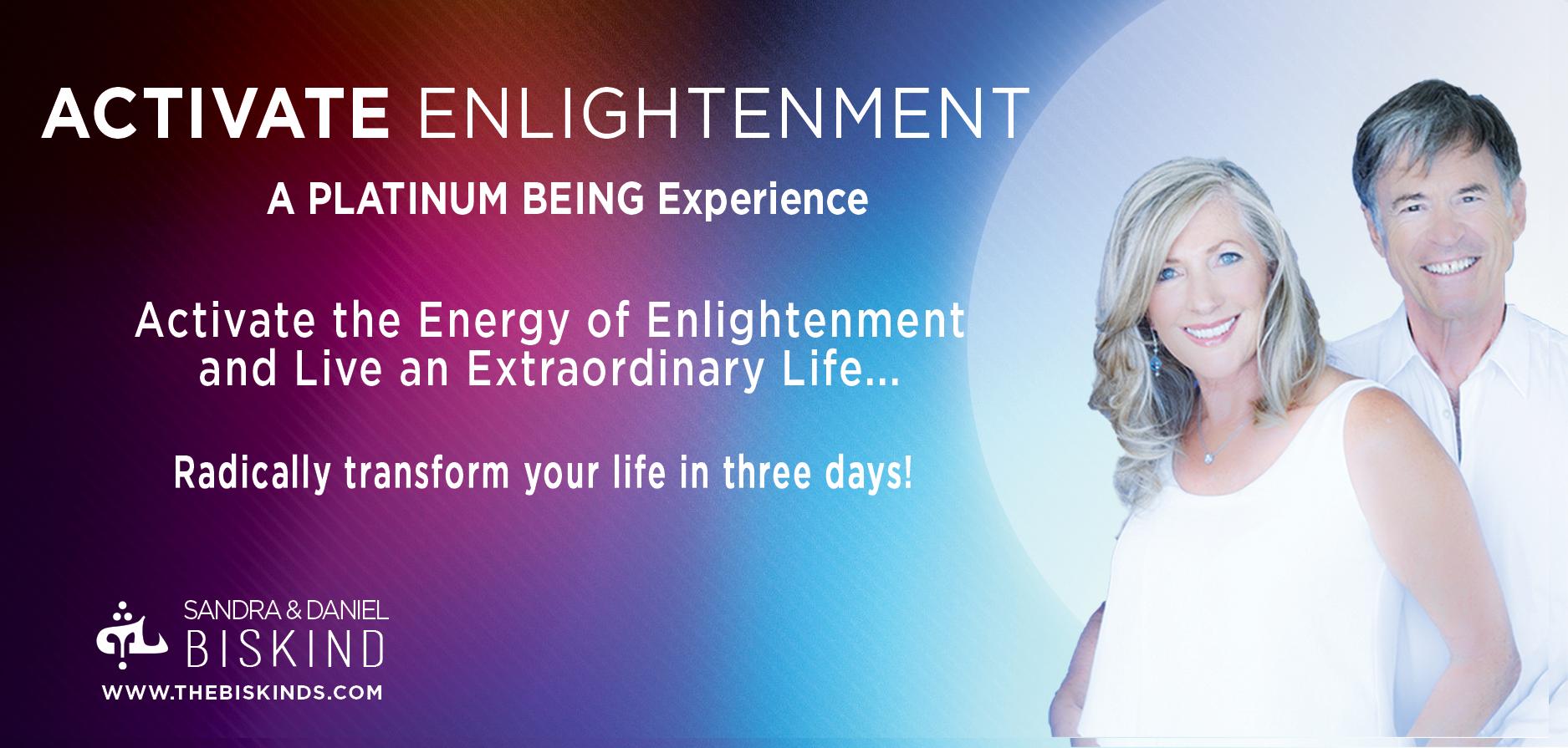 Home Activate enlightenment best seller live event image for website No best seller tag