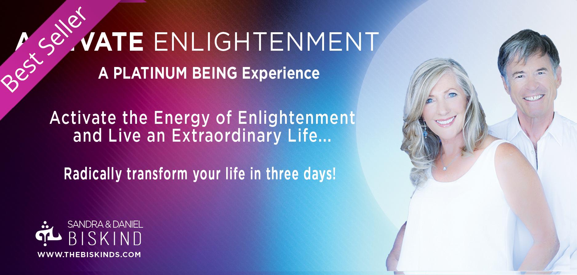 Home Activate enlightenment best seller live event image for website